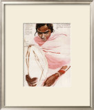 Pushpa, Adolescente a Phalodi Print by Titouan Lamazou