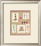 Gardening Pleasures II Print by Gillian Fullard