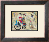 Bicycle Built for Two Prints by Barbara Olsen