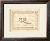 Vogue Shoe Print by Banafshe Schippel