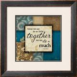 Together Print by Jennifer Pugh