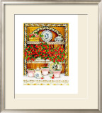 Blossoming Kitchen III Prints by Jean-Pierre Delyle
