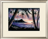 Sunrise over Diamond Head Prints by Hale Pua Studio