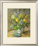 Yellow Tulips Art by Dot Bunn