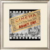 Cinema Print by Conrad Knutsen