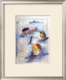 De l'Ile de Brehat au Cap Frehel Print by Gildas Flahault
