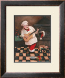 Christmas Chef I Prints by T. C. Chiu