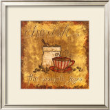 Cherish Coffee Prints by Tara Reed