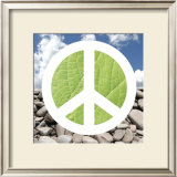 Green Peace Posters by Jenny Kraft