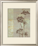 Silver Foliage I Print by Ella K.