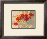 Red Tulips and Daffodils Prints by Valeri Chuikov