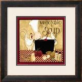 Kitchen Favorites: Vegetable Soup Prints by Dan Dipaolo