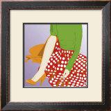 Polka Skirt Prints by  Puntoos