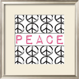Peace Poster by Louise Carey