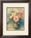 Roses Print by Edward Armitage