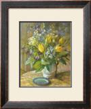 Yellow Tulips Prints by Dot Bunn