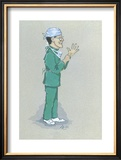 The Surgeon Limited Edition Framed Print by Simon Dyer