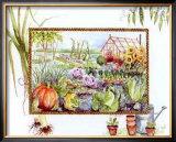 Vegetable Garden Print by Alie Kruse-Kolk