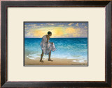 Hawaiian Fisherman Art by Charles W. Bartlett