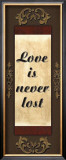 Love Is Never Lost Prints by Debbie DeWitt