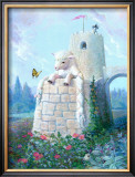 Rapunzel Lamb Poster by Dot Bunn