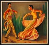 El Baile Print by Paul Valentine Lantz