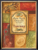 Tuscan Olive Oil Art by Gregory Gorham