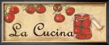 La Cucina, Tomatoes Prints by Debbie DeWitt