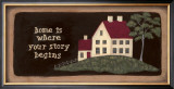 Home is Where Story Prints by Jo Moulton