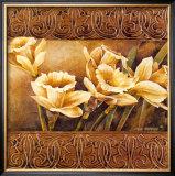 Golden Daffodils II Art by Linda Thompson