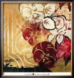 Cranberries and Creme II Print by Laurie Fields