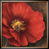 Rouge Poppies I Posters by Jordan Gray