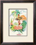 Tropical Abundance Art by Frank MacIntosh