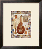 Lute Prints by Richard Henson