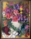 Victorian Bouquet Prints by Francie Botke