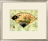 Art of the Geisha II Print by Nancy Slocum