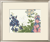 Japanese Flower Garden III Prints by Konan Tanigami