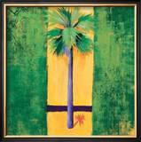 Neon Palm III Posters by Elizabeth Jardine