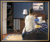 Bedtime Story Print by Mary G. Smith