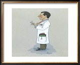 The Physician Limited Edition Framed Print by Simon Dyer