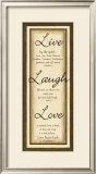 Sage Sign, Live Laugh Love Prints by Debbie DeWitt