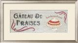 Gateau de Fraises Poster by Louise Max