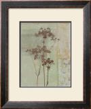 Silver Foliage II Prints by Ella K.