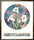 Calla Lilies Art by Pat Woodworth