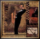 Jazz Sax Art
