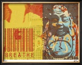 Breathe Limited Edition Framed Print by M.J. Lew