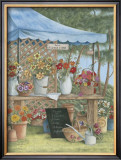 Betty's Flower Stand Posters by Kay Lamb Shannon