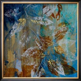 Jewelled Leaves XII Prints by Jennifer Hollack