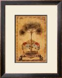 Sunrise Palm Prints by Elizabeth Jardine