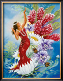 Spirit of Aloha Framed Giclee Print by Warren Rapozo